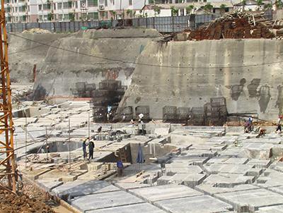 裕丰英伦二期深基坑支护项目